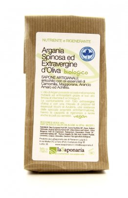 Sapone Argania Spinosa ed Extravergine d'Oliva