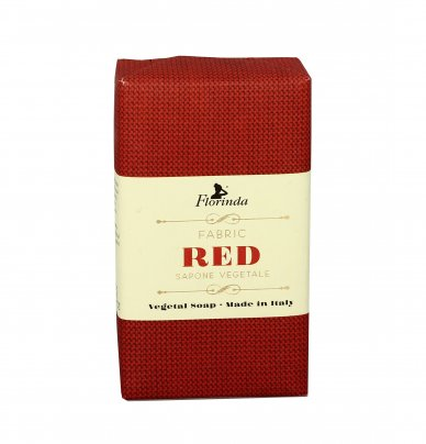 "Sapone Vegetale ""Fabric Red"""