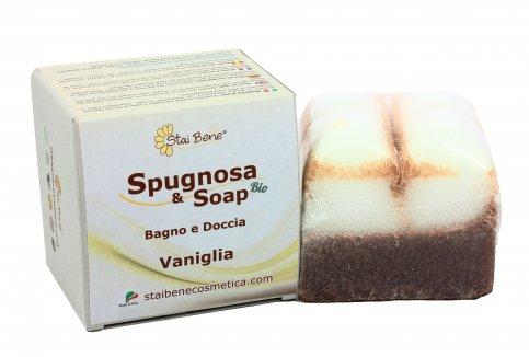 Sapone Spugna alla Vaniglia