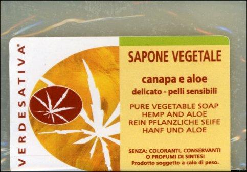 Sapone Vegetale Canapa e Aloe