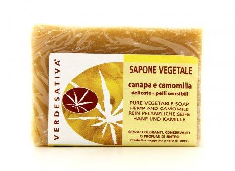 Sapone Vegetale Canapa e Camomilla