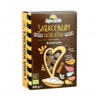 Pasta Attiva Rigatoni di Grano Duro e Germe di Grano Saraceno - Saracenum