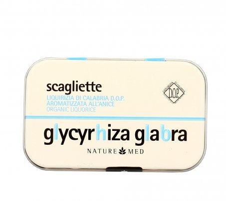 Liquirizia Bio di Calabria Scagliette all'Anice