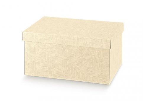 Scatola Vuota per Regali - Beige 30x30x12 cm