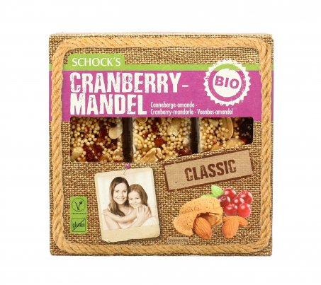 Cranberry Mandel - Barretta Mirtilli Rossi e Mandorle