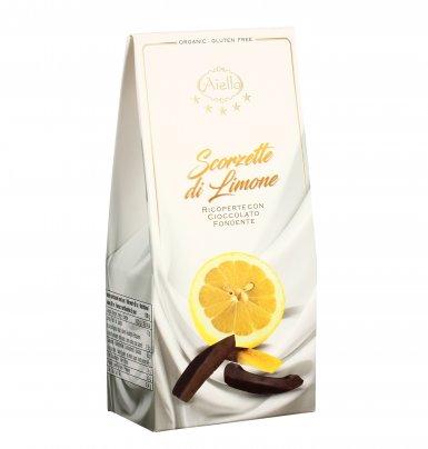 Scorzette di Limone Ricoperte al Cioccolato
