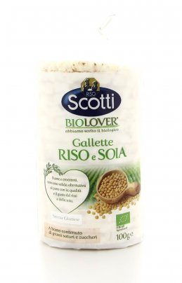 BioLover - Gallette Riso e Soia
