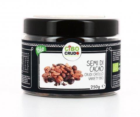 Semi di Cacao Crudi - Criollo Variety Bio 250 gr.