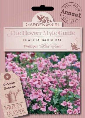 Semi di Diascia Barberae - Twinspur Pink Queen