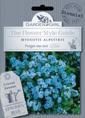 Semi di Myosotis Alpestris - Forget-Me-Not Blue