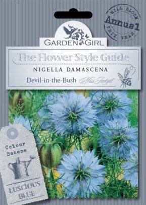 Semi di Nigella Damascena - Devil-In-The-Bush Miss Jeckyll