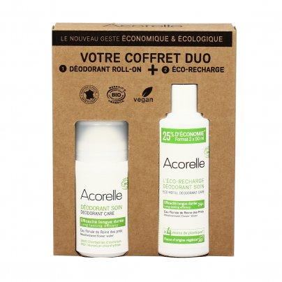 Deodorante Roll On all'Acqua Floreale Regina dei Prati + Ricarica (Confezione Eco Risparmio)