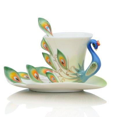 Set da Tè Pavone Royal