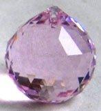 Sfera Media Rosa - Prisma di Cristallo 30 mm