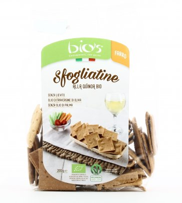 Sfogliatine alla Quinoa Bio