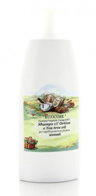 Shampo all'Ortica e Tea Tree Oil