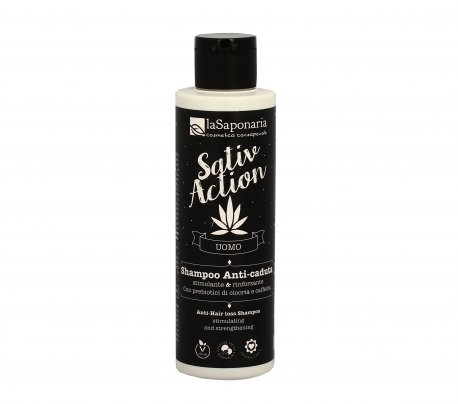 Shampoo Anticaduta Uomo - Sativ Action
