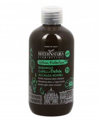 Shampoo Capelli Detox all'Alga Kombu - Urban Protection
