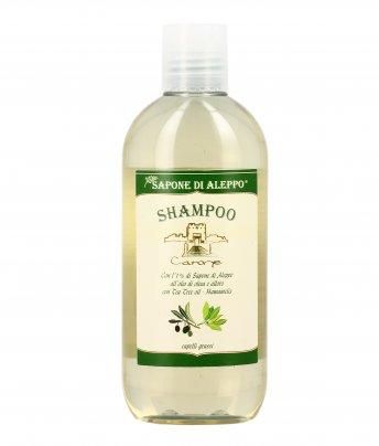 Shampoo per Capelli Grassi con Sapone di Aleppo