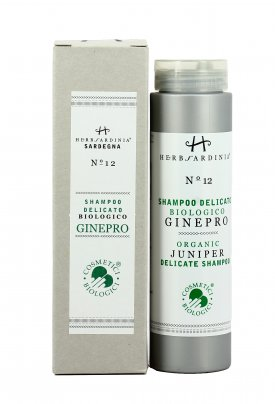 Shampoo Delicato Biologico al Ginepro N°12