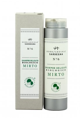 Shampoo Delicato Biologico al Mirto N°6