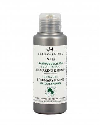 Shampoo Delicato Biologico Rosmarino e Menta N°35 100 ml