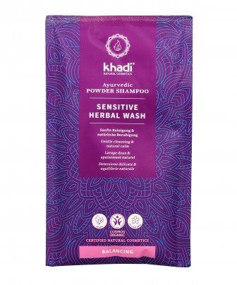 "Shampoo in Polvere Ayurvedico ""Sensitive Herbal Wash"" - Delicato ed Equilibrante"