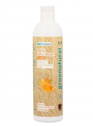 Bio Shampoo Dolce per Capelli e Cute Delicata
