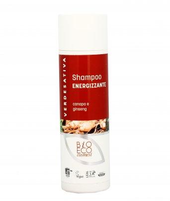 Shampoo Energizzante con Canapa e Ginseng