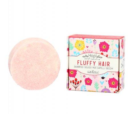 """Shampoo Solido per Capelli Secchi """"Fluffy Hair"""" - Hopi"""