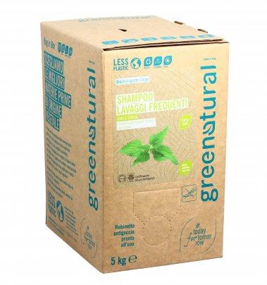 Shampoo Lavaggi Frequenti Lino e Ortica - Eco Box Sfuso