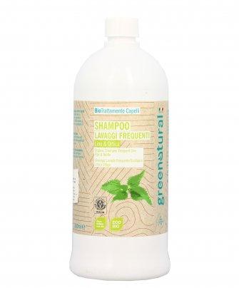Shampoo Lavaggi Frequenti Lino e Ortica 1000 ml