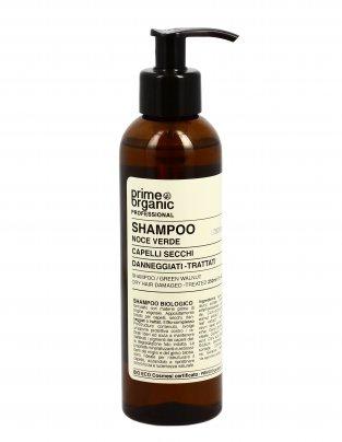 Shampoo per Capelli Secchi alla Noce Verde
