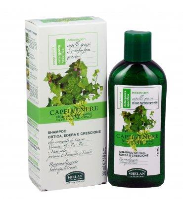 Shampoo Capelli Grassi Ortica Edera e Crescione - Capelvenere