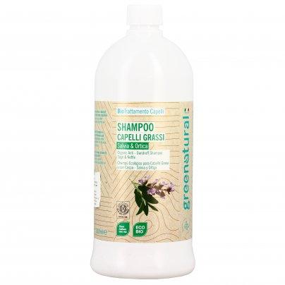 Shampoo per Capelli Grassi e con Forfora Eco-Bio 1000 ml