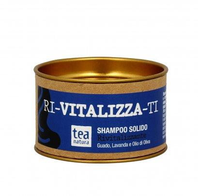 """Shampoo Solido """"Ri-Vitalizza-Ti"""" per Capelli Stanchi e Stressati"""