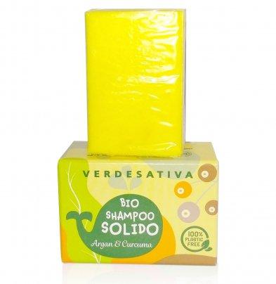 Bio Shampoo Solido - Argan e Curcuma