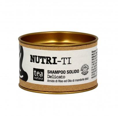 """Shampoo Solido """"Nutri-Ti"""" Delicato per Capelli Sottili"""