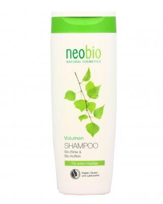 Shampoo effetto Volume con Caffeina e Betulla