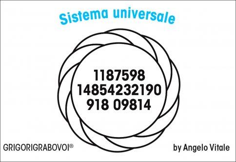 Tessera Radionica - Sistema Universale