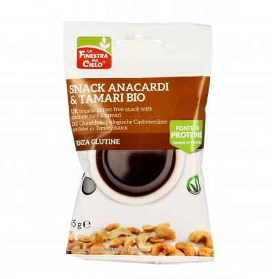 Snack Anacardi e Tamari Bio - Senza Glutine