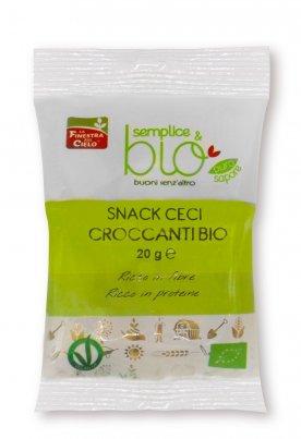 Snack Ceci Croccanti Bio - Semplice & Bio