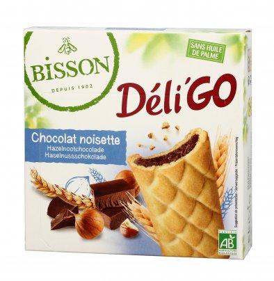 """Biscotti Ripieni con Cioccolato e Nocciole """"DélìGo"""""""