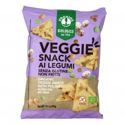 Veggie Snack ai Legumi Senza Glutine