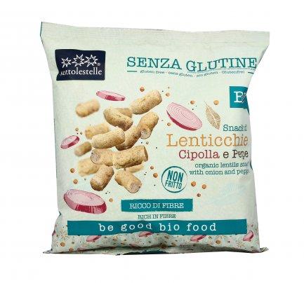 Snack di Lenticchie Cipolla e Pepe - Senza Glutine