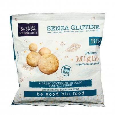 Snack di Miglio a Basso Contenuto di Sodio - Senza Glutine