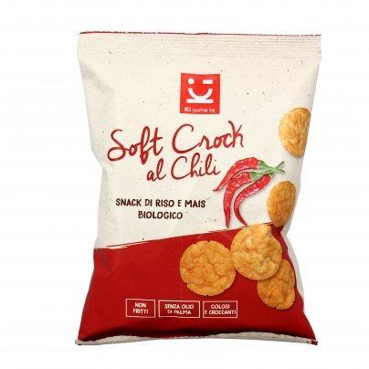 Snack di Riso e Mais croccante - Soft Crock al Chili