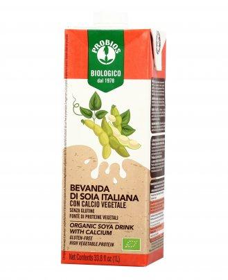Bevanda di Soia Italiana con Calcio Vegetale - Senza Glutine