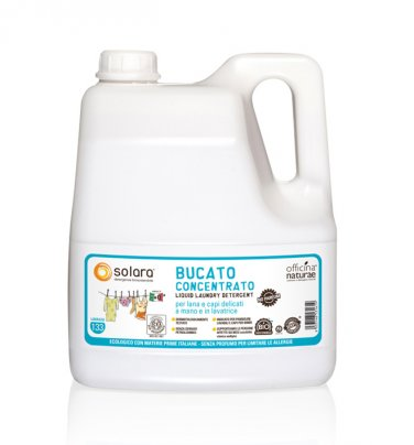 Bucato Liquido Senza Profumo - Solara 4 Litri (Tanica)