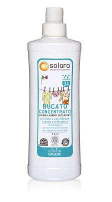 Bucato Liquido Concentrato - Solara 1000 ml